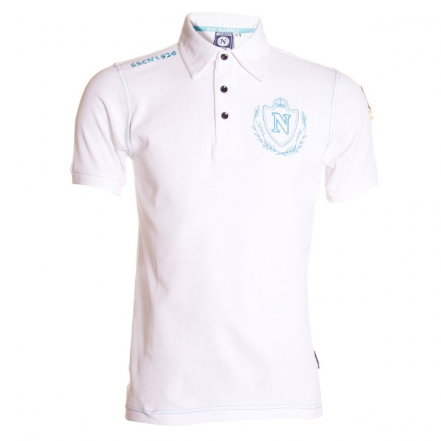 SSCN White Polo Shirt