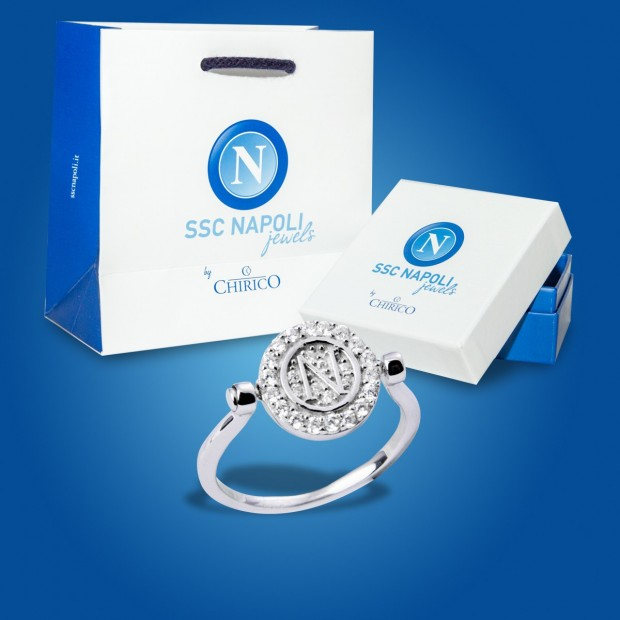 SSC Napoli Silver Ring