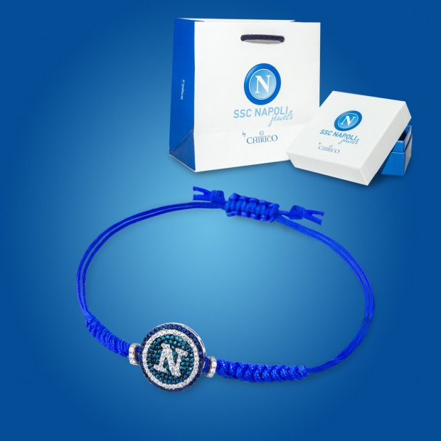 Blue Bracelet with Brillars Pendant