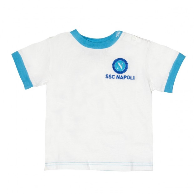 T-Shirt Infant SSC Napoli Bianca
