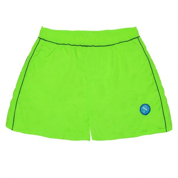 SSCN Green Fluo Taslon Swimming Trunks