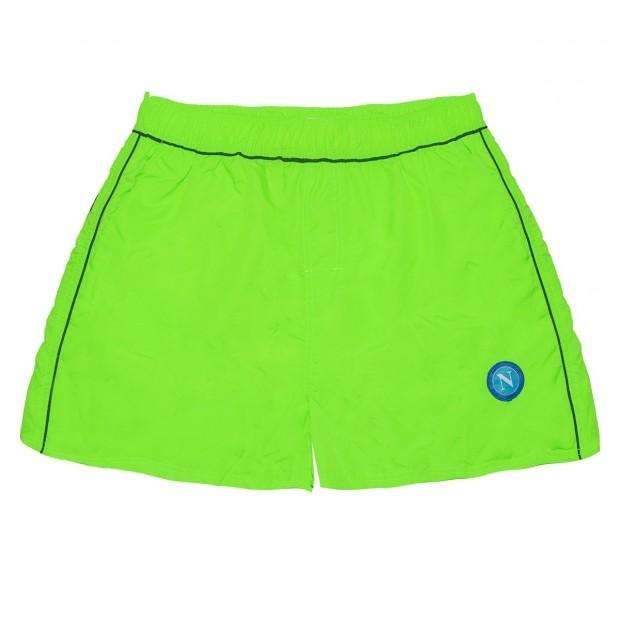 SSCN Green Fluo Taslon Swimming Trunks