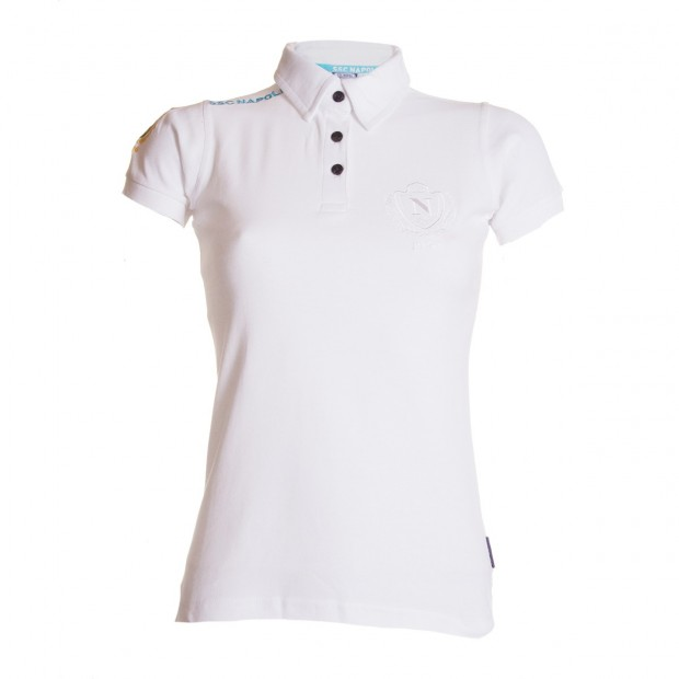 SSCN White Polo Shirt for Women