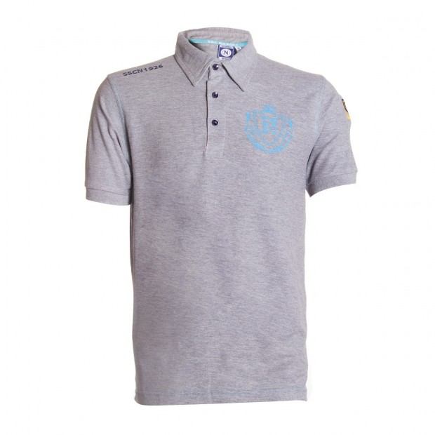 SSCN Melange Grey Polo Shirt