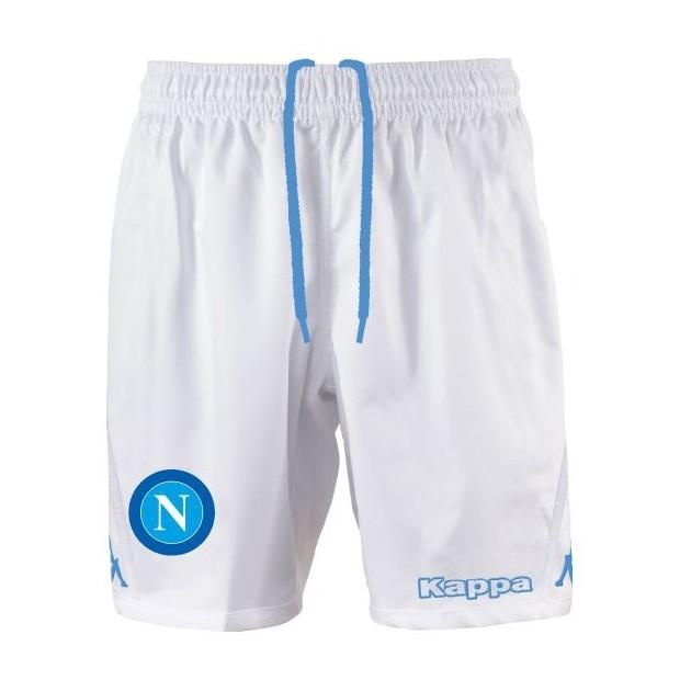 SSC Napoli Shorts Gara Bianchi 2015/2016