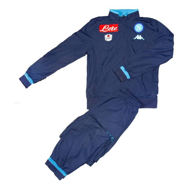 SSC Napoli Tuta Rappresentanza Blue Marine JR 2015/2016