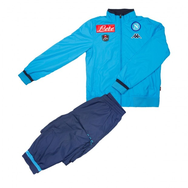 SSC Napoli Sky Blue Representation Micro Suit 2015/2016 For Kids