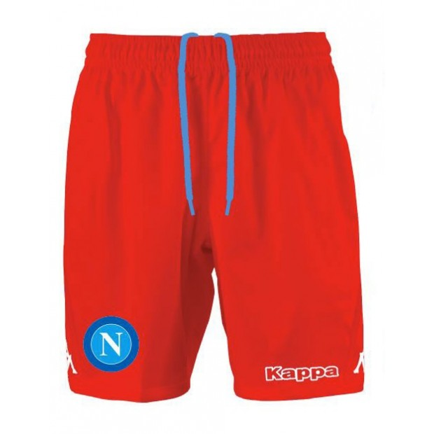 SSC Napoli Red Shorts 2015/2016