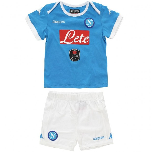 SSC Napoli Home Kit 2015/2016 For Infants