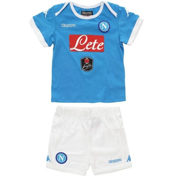 SSC Napoli Home Kit 2015/2016 For Infants