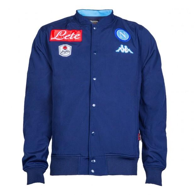 SSC Napoli Giacca Rappresentanza Blue Marine 2015/2016