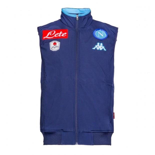 SSC Napoli Blue Marine Sleeveless Jacket 2015/2016