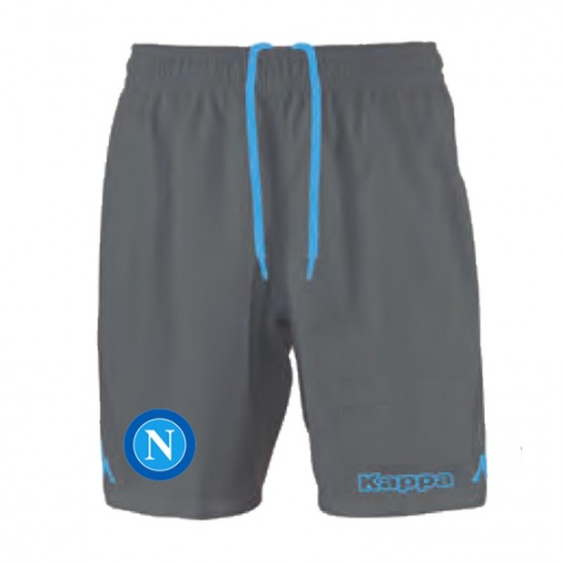 SSC Napoli Grey Shorts 2015/2016