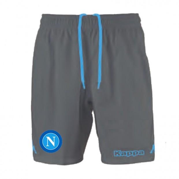 SSC Napoli Grey Shorts 2015/2016