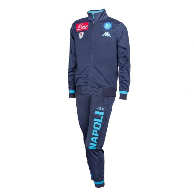 SSC Napoli Blue Marine Representation Poly Suit 2015/2016