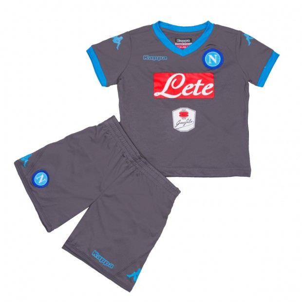 SSC Napoli Away Kit For Kids 2015/2016
