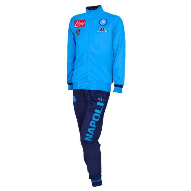 SSC Napoli Tuta Rappresentanza Poly Azzurra 2015/2016