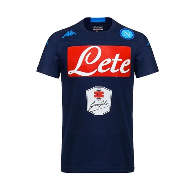 SSC Napoli T-Shirt Pregara Allenamento Blue Marine