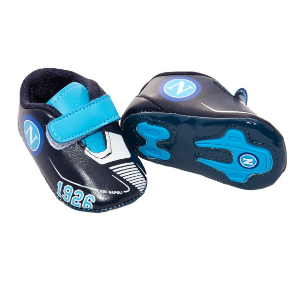 SSC Napoli Blue Strap Shoes 1926 For Infants
