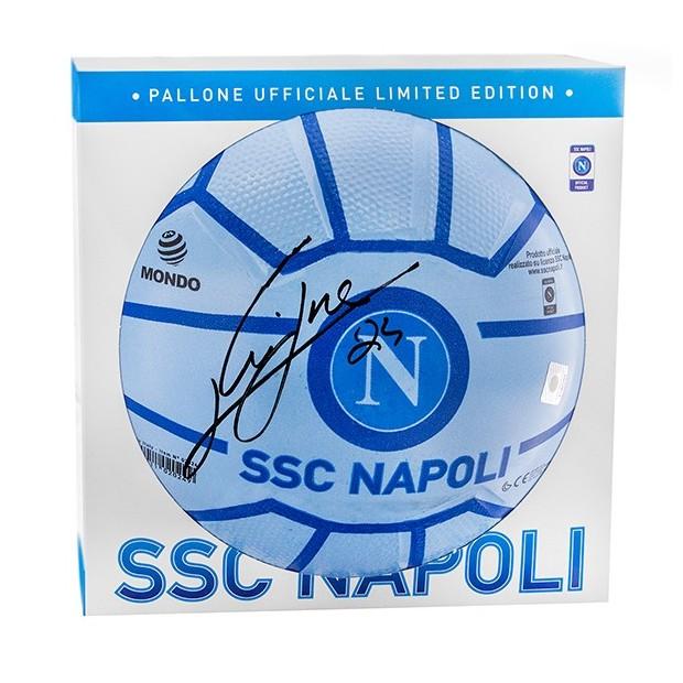SSC Napoli Insigne Autographed Super Santos