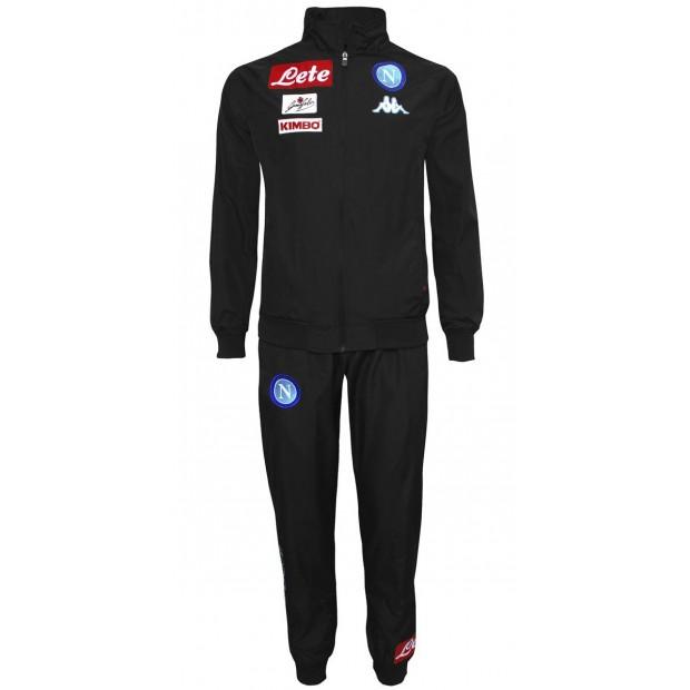 SSC Napoli Black Representation Micro Suit 2016/2017