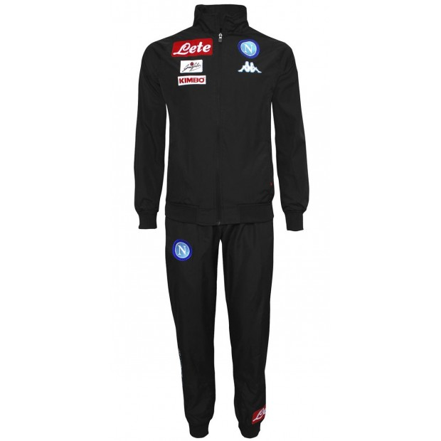 SSC Napoli Black Representation Micro Suit 2016/2017 for Kids