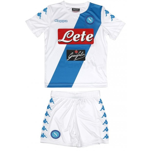 SSC Napoli Away Kit For Kids 2016/2017