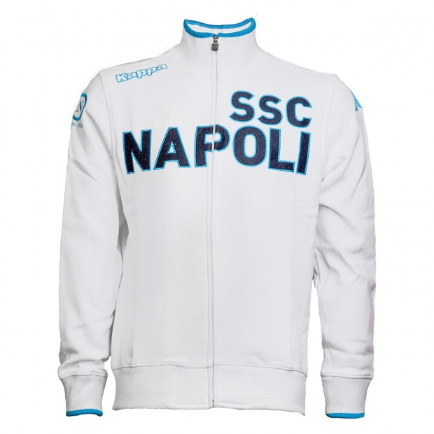 SSC Napoli White Sweater 90 Anni