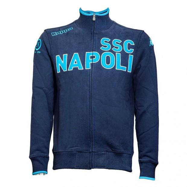 SSC Napoli Felpa Blue Marine 90 Anni