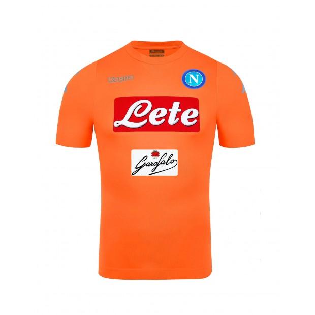 SSC Napoli Goalkeeper Orange Match Shirt 2016/2017
