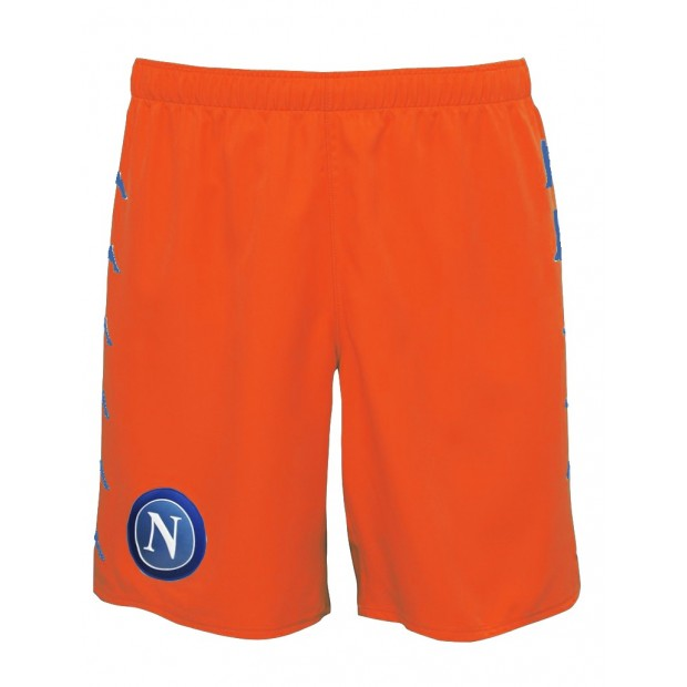 SSC Napoli Orange Shorts 2016/2017