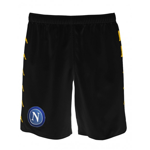 SSC Napoli Black Shorts 2016/2017