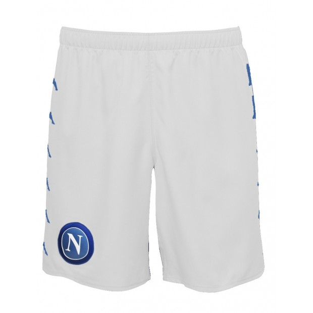 SSC Napoli White Shorts 2016/2017