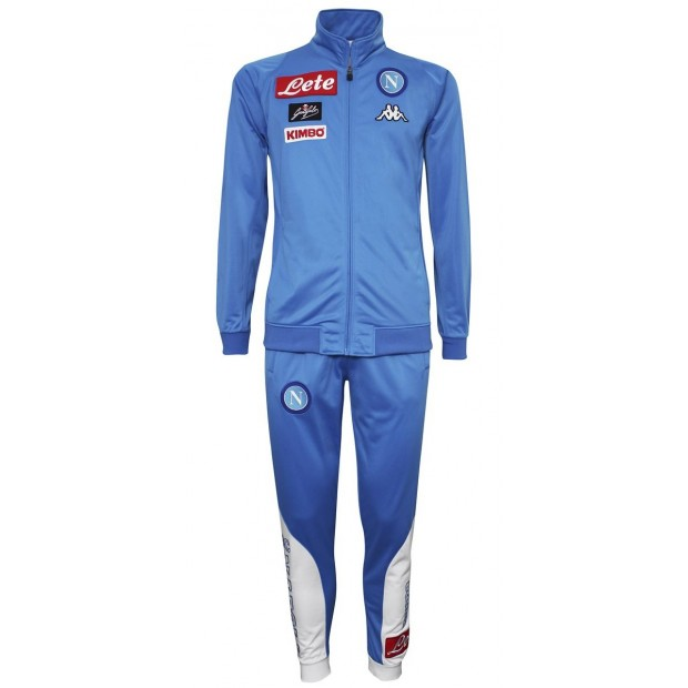 SSC Napoli Sky Blue Representation Poly Suit 2016/2017