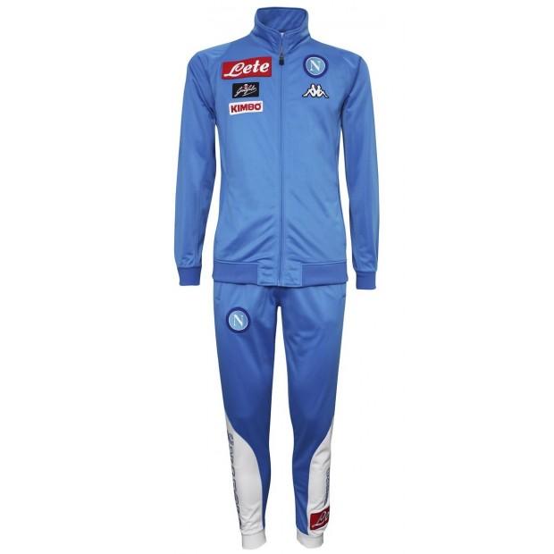 SSC Napoli Sky Blue Representation Poly Suit 2016/2017