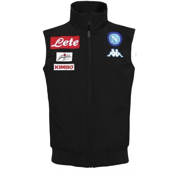 SSC Napoli Black Sleeveless Jacket 2016/2017 for Kids