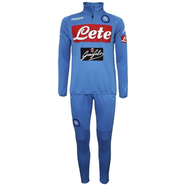 SSC Napoli Sky Blue Training Tracksuit 2016/2017 Youth