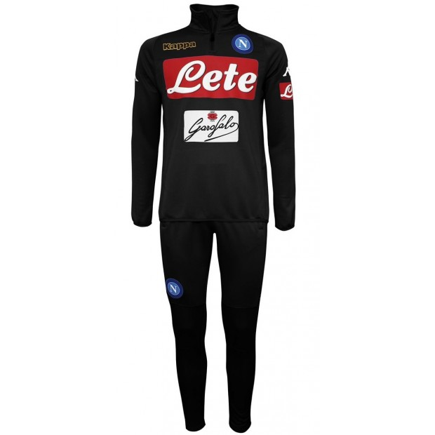 SSC Napoli Black Training Tracksuit 2016/2017 Youth