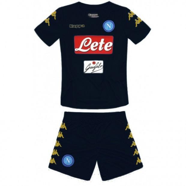 SSC Napoli Third Kit For Kids 2016/2017