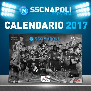 Ssc napoli official calendar 2017