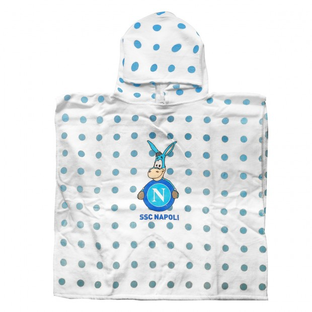 Sky Blue Infant Poncho