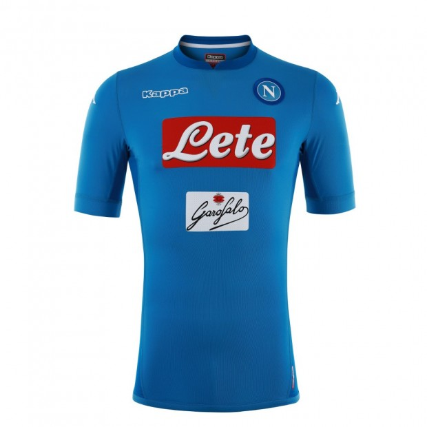 SSC Napoli Home Match Shirt 2017/2018