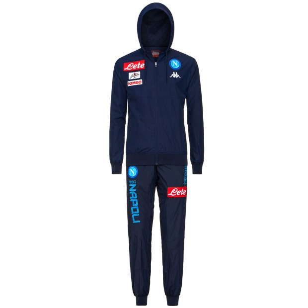 SSC Napoli Blue Micro Representation Suit with Cap 2017/2018