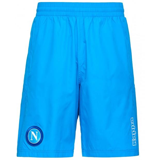 SSC Napoli Sky Blue Representation Bermuda Shorts 2017/2018