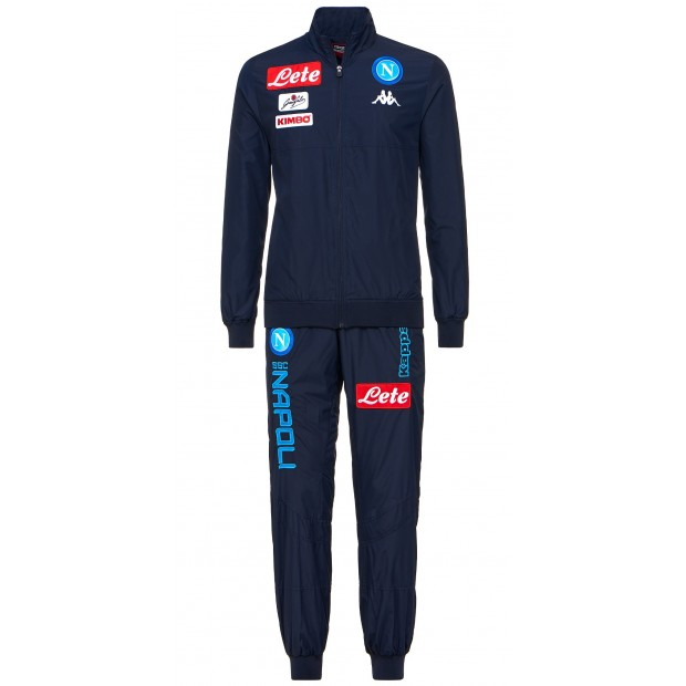 SSC Napoli Blue Micro Representation Suit 2017/2018 Youth