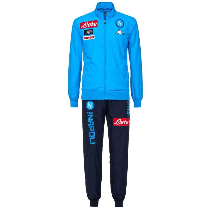 Ssc Napoli Sky Blue Micro Representation Suit 2017 2018
