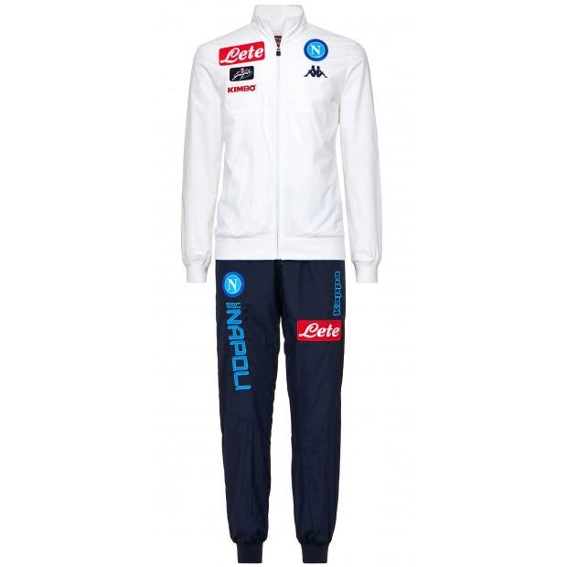 SSC Napoli White Micro Representation Suit 2017/2018 Youth