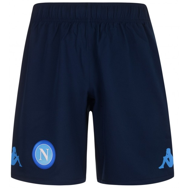 SSC Napoli Pantaloncini Gara Blu 2017/2018