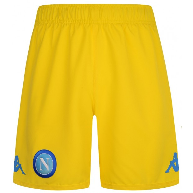 SSC Napoli Yellow Shorts 2017/2018