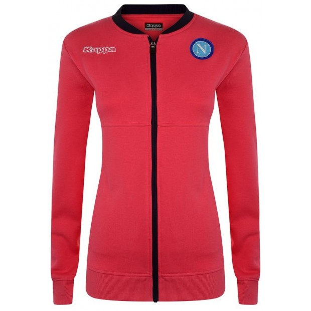 SSC Napoli Strawberry Red Lady Sweatshirt 2017/2018